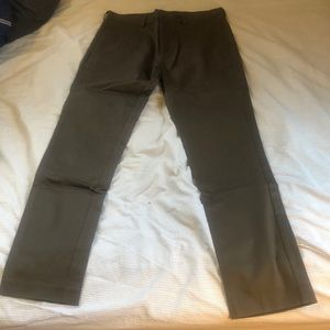 Men's H&M brown chino pant - The Weekend collab